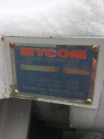D000822-002 - Mycom P200VSD, Screw, Compressor for sale